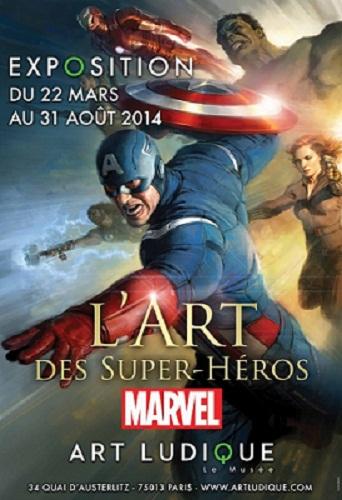 Exposition Marvel - L'art des Super-Héros