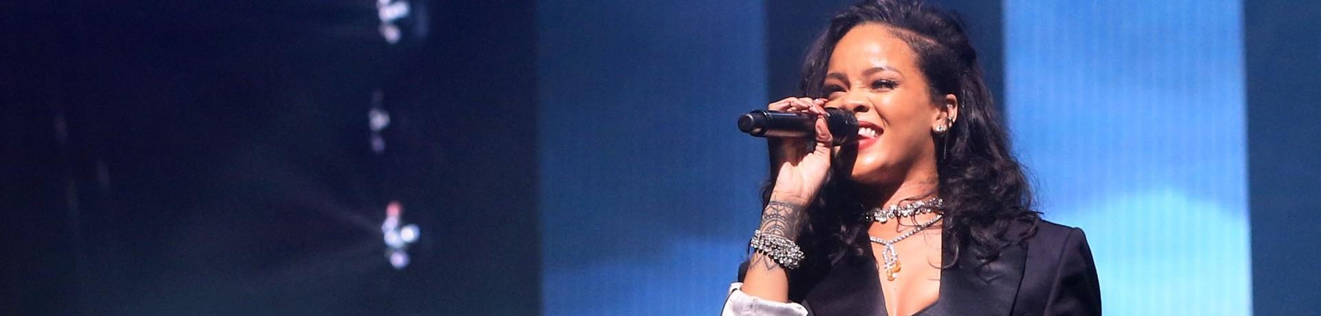 Rihanna en live (illustration)
