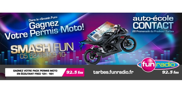 Smash Fun Permis Moto