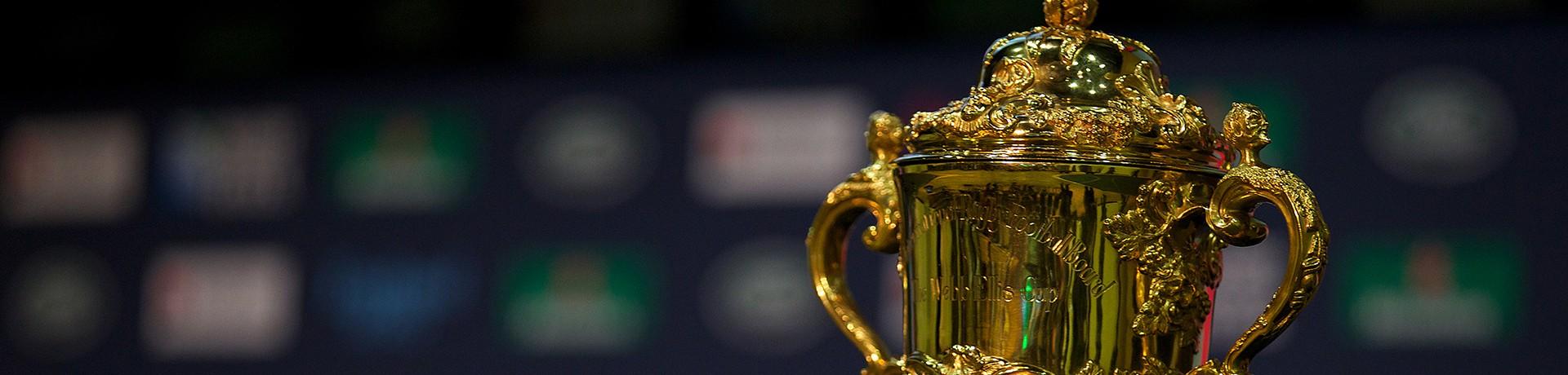 La coupe du monde de rugby (illustration)