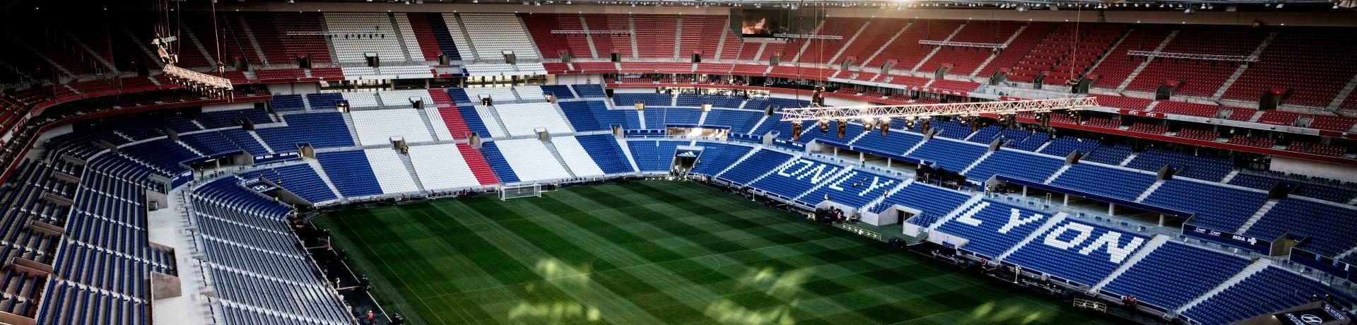 Le nouveau stade de Lyon le 5 janvier 2016