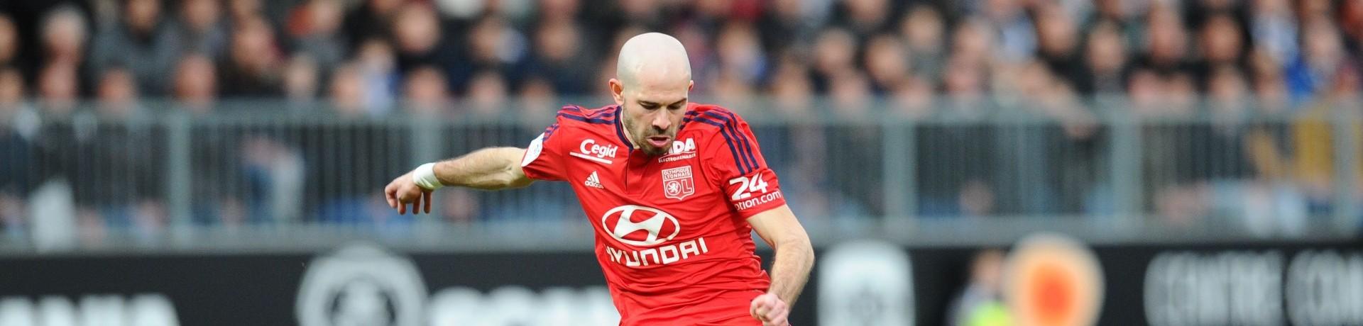 Christophe Jallet a ouvert le score à Angers samedi 6 février 2016