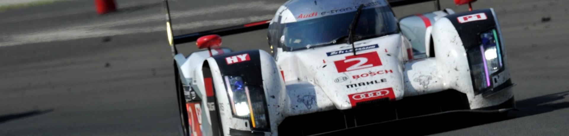 24 Heures du Mans : l'Audi numéro 2 (illustration)