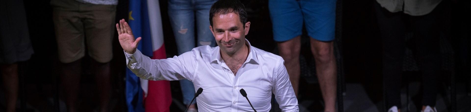Benoît Hamon, le 28 août 2016