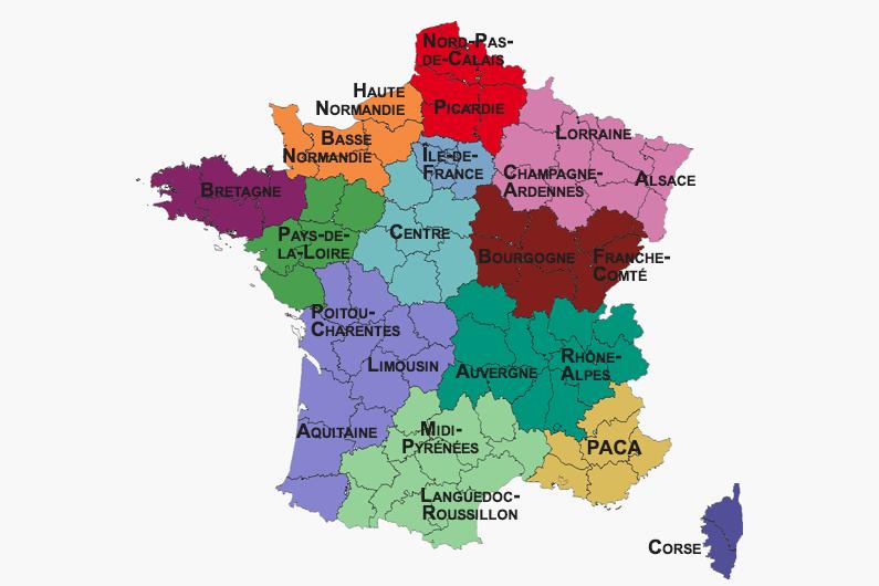Les Resultats Du Second Tour Des Elections Regionales 2015 Region Par Region