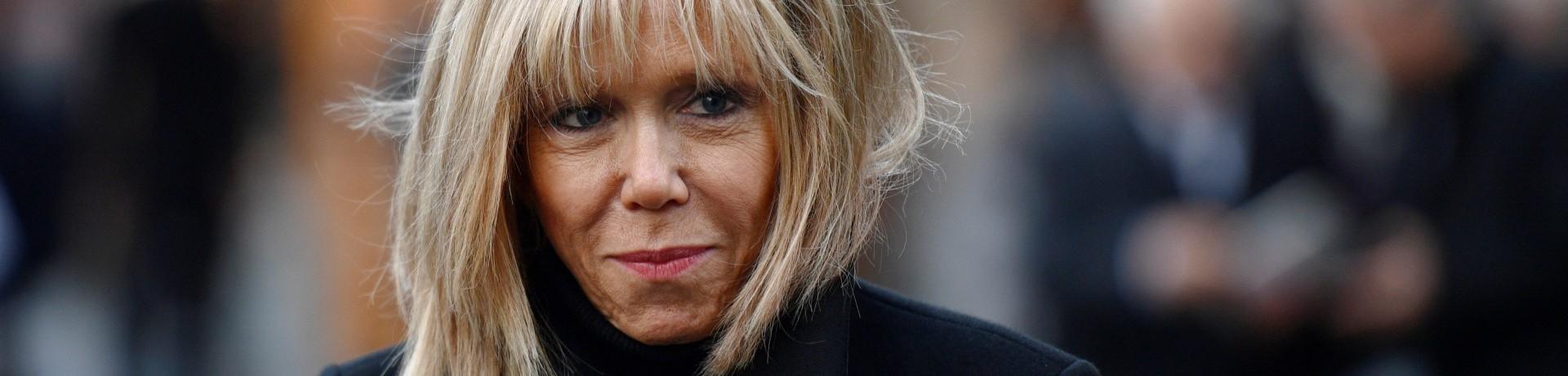 Paris, le 10 novembre 2016. Brigitte Macron, l'épouse de l'ex-locataire de Bercy