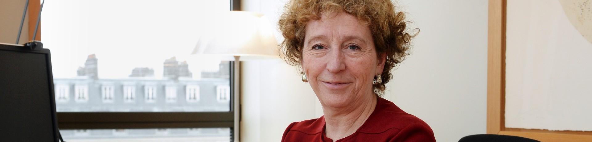 Muriel Pénicaud, la nouvelle ministre du Travail du premier gouvernement Macron