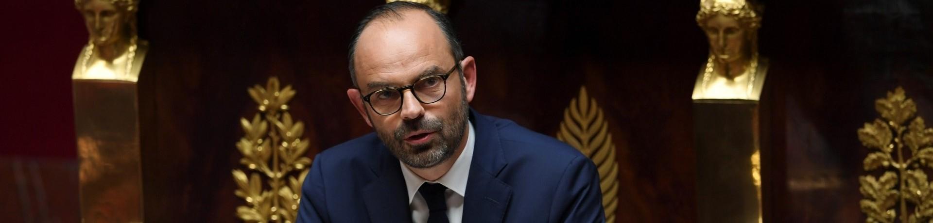 Édouard Philippe, le 4 juillet 2017 à l'Assemblée nationale