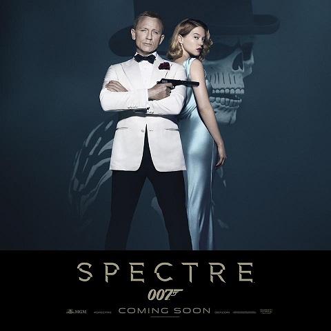 """""""Spectre"""" le nouveau James Bond en salle le 11 novembre"""