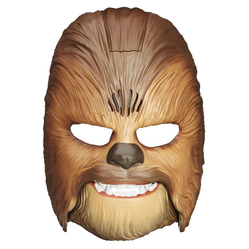 Le masque électronique de Chewbacca pour crier comme un Wookie (54,99 euros)