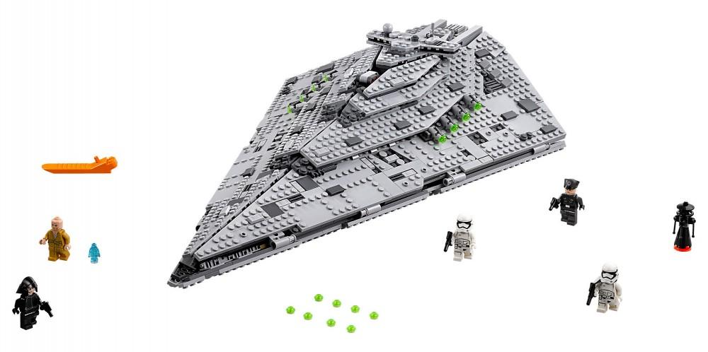 LEGO  Star Destroyer du Premier Ordre (159,99 euros)