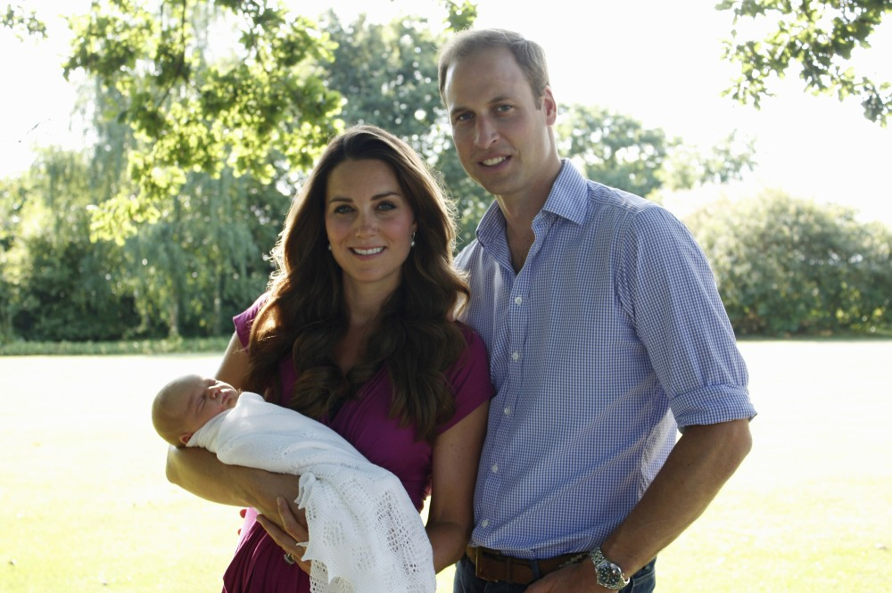 George, premier enfant de Kate et William, est en troisième position dans l'ordre de succession.