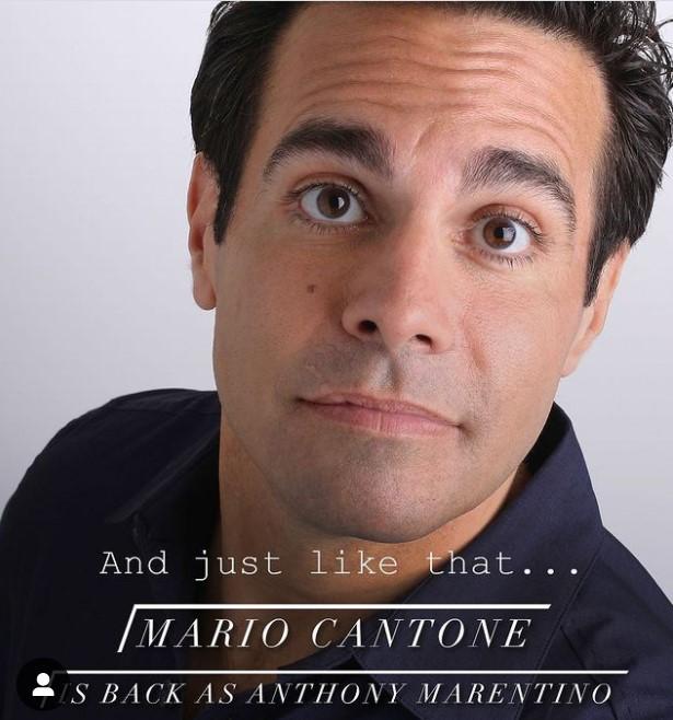 Mario Cantone sera de nouveau Anthony Marentino, le wedding planner et époux de  Stanford Blatch