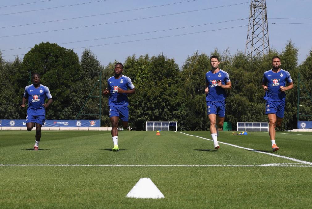 Travail physique pour NGolo Kanté et Olivier Giroud, de retour à Chelsea