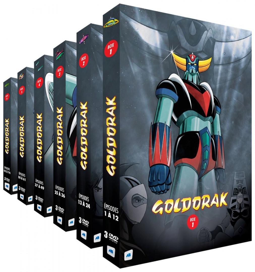 """Le coffret intégral des épisodes de """"Goldorak"""" à 164,95 euros sur Amazon"""