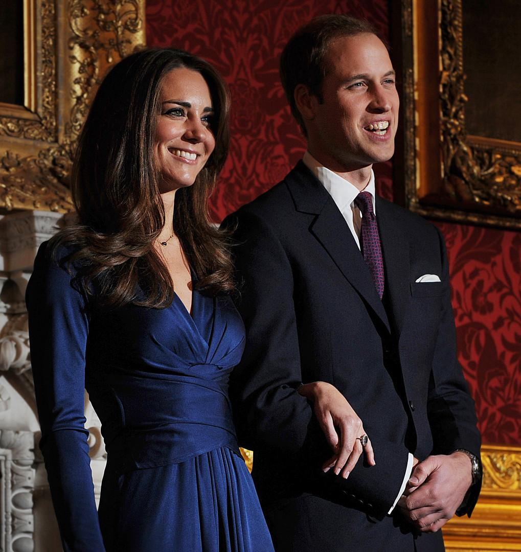 L'annonce des fiançailles en novembre 2010