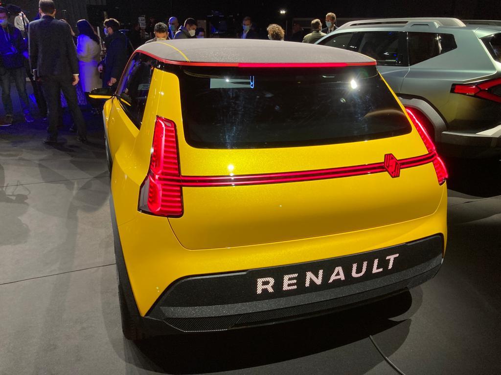 La nouvelle R5 de Renault.
