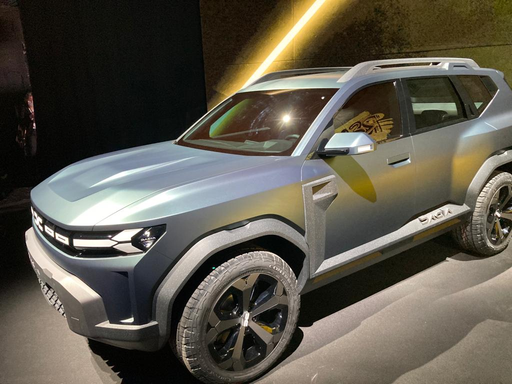 La nouvelle Dacia Spring électrique.