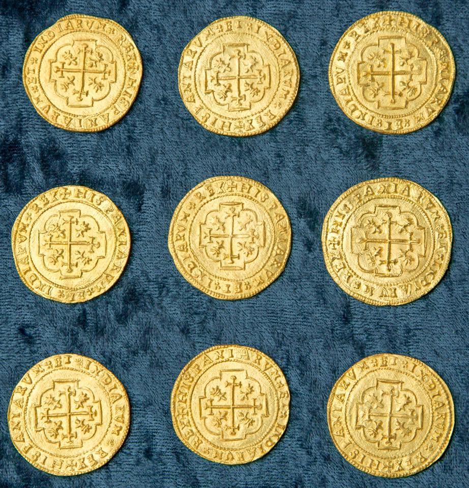 Au sein du trésor, certaines pièces sont estimées à plus de 300.000 dollars chacune