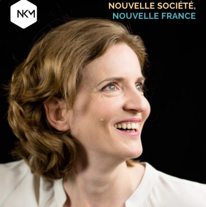 L'affiche de campagne de Nathalie Kosciusko-Morizet