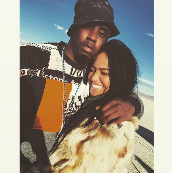 P. Diddy et la chanteuse américaine de RnB Cassie