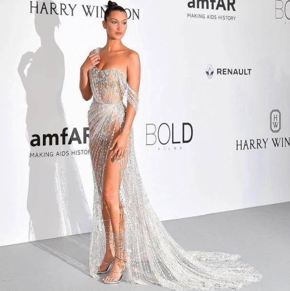 La mannequin Bella Hadid était aussi de la partie