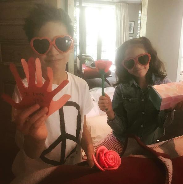Jennifer Lopez profite de la Saint-Valentin pour témoigner son amour à ses enfants