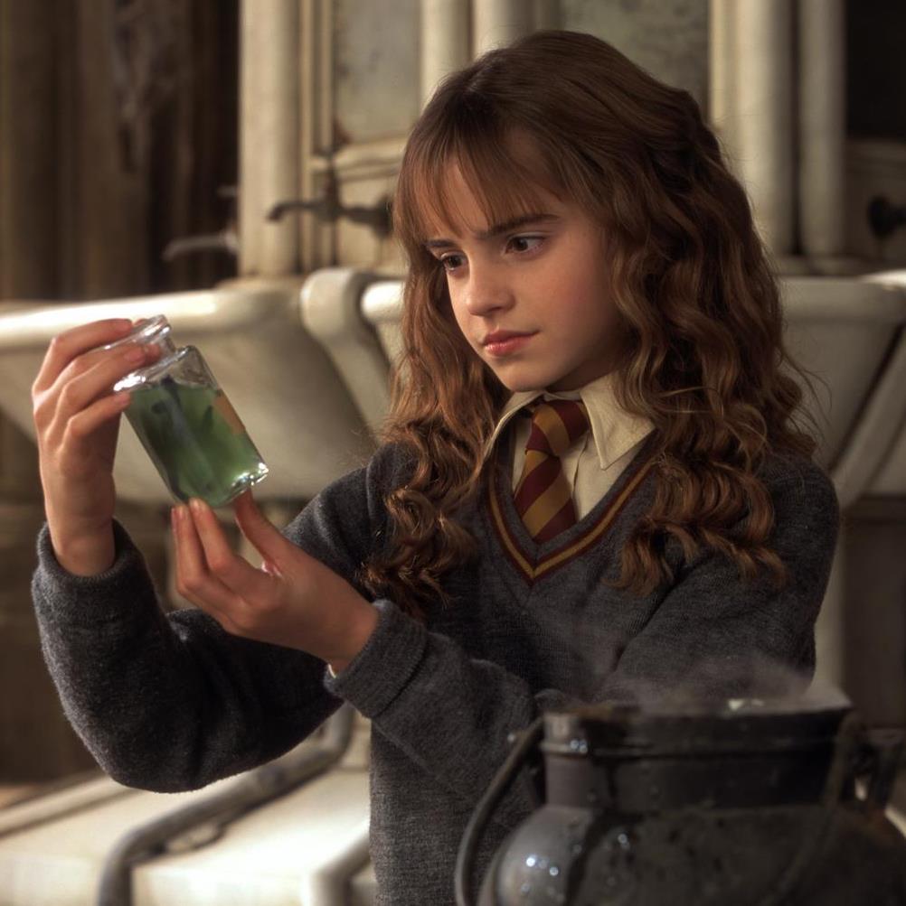"""Emma Watson dans """"Harry Potter et La Chambre des Secrets"""" (2002)"""