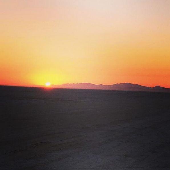 Et des vues du désert du Nevada bien plus classiques