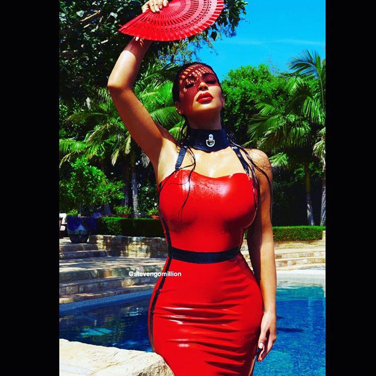 """""""Le rouge a toujours été ma couleur"""", commente Steven Gomillion sur sa photo de Kim Kardashian"""