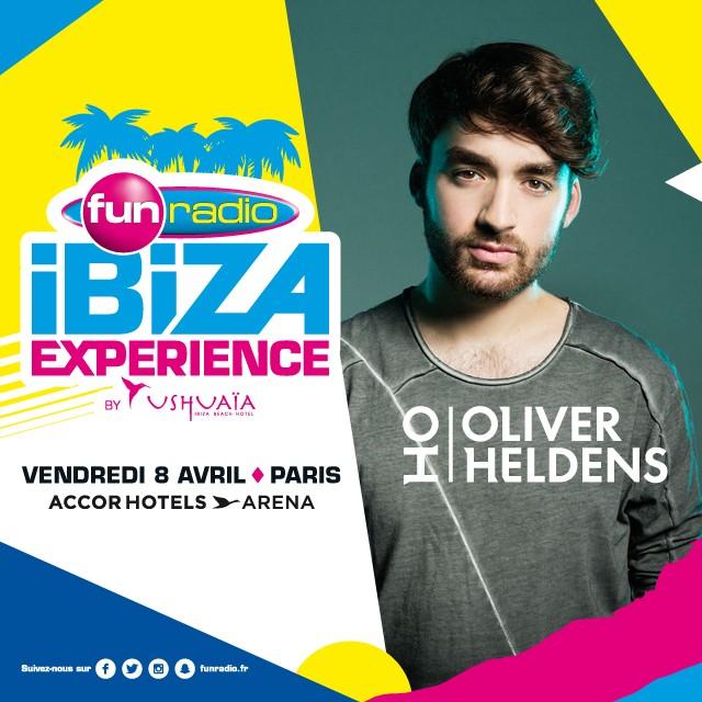 Oliver Heldens à la Fun Radio Ibiza Experience