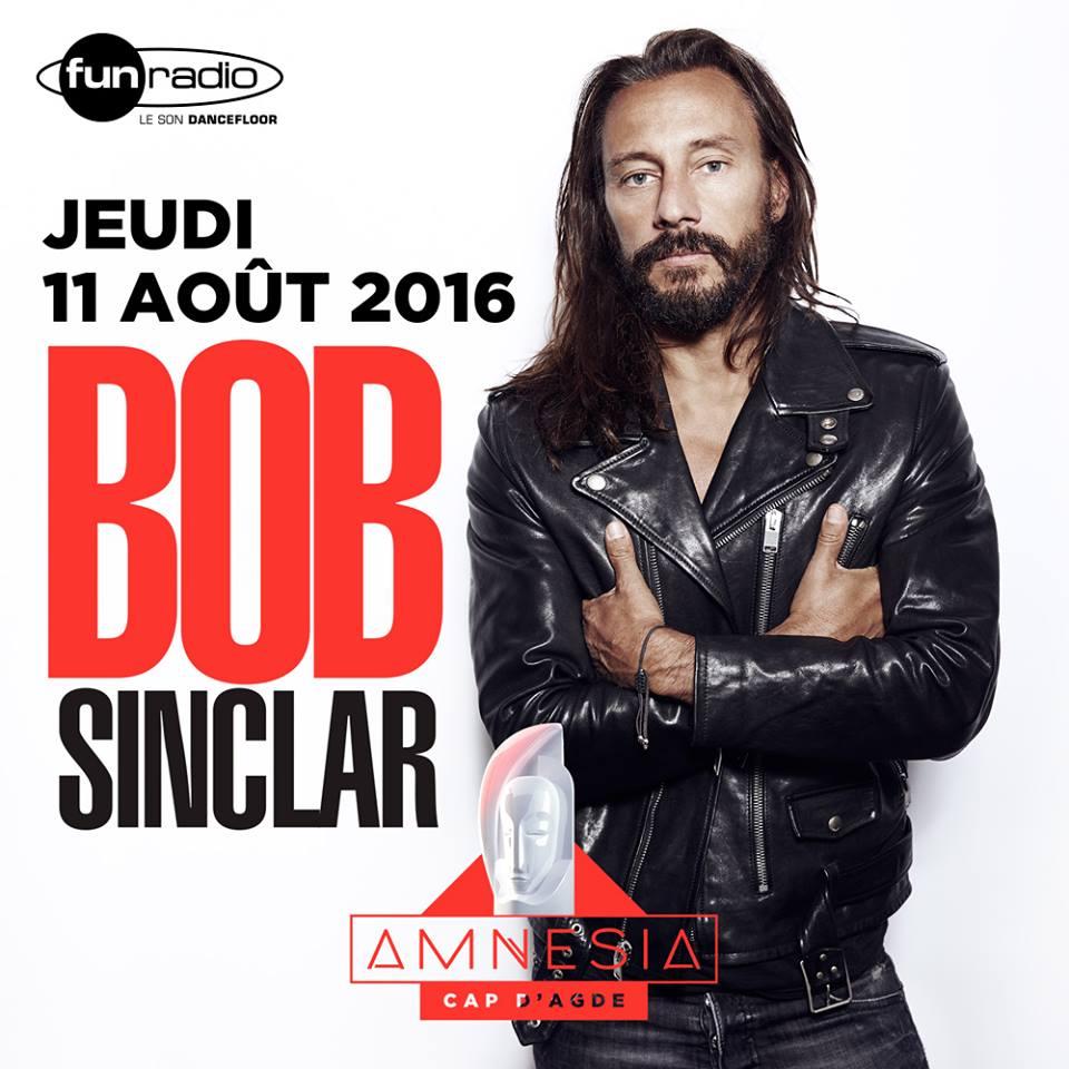 BOB SINCLAR AMNESIA SUMMER 2016