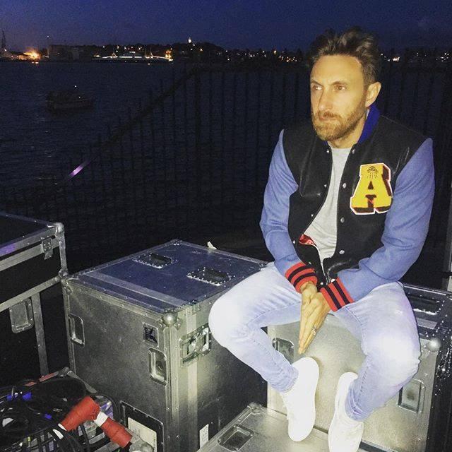 David Guetta maintenant