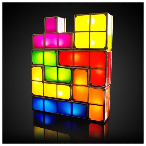 Une lampe Tetris, 37,90 euros sur La Geekerie