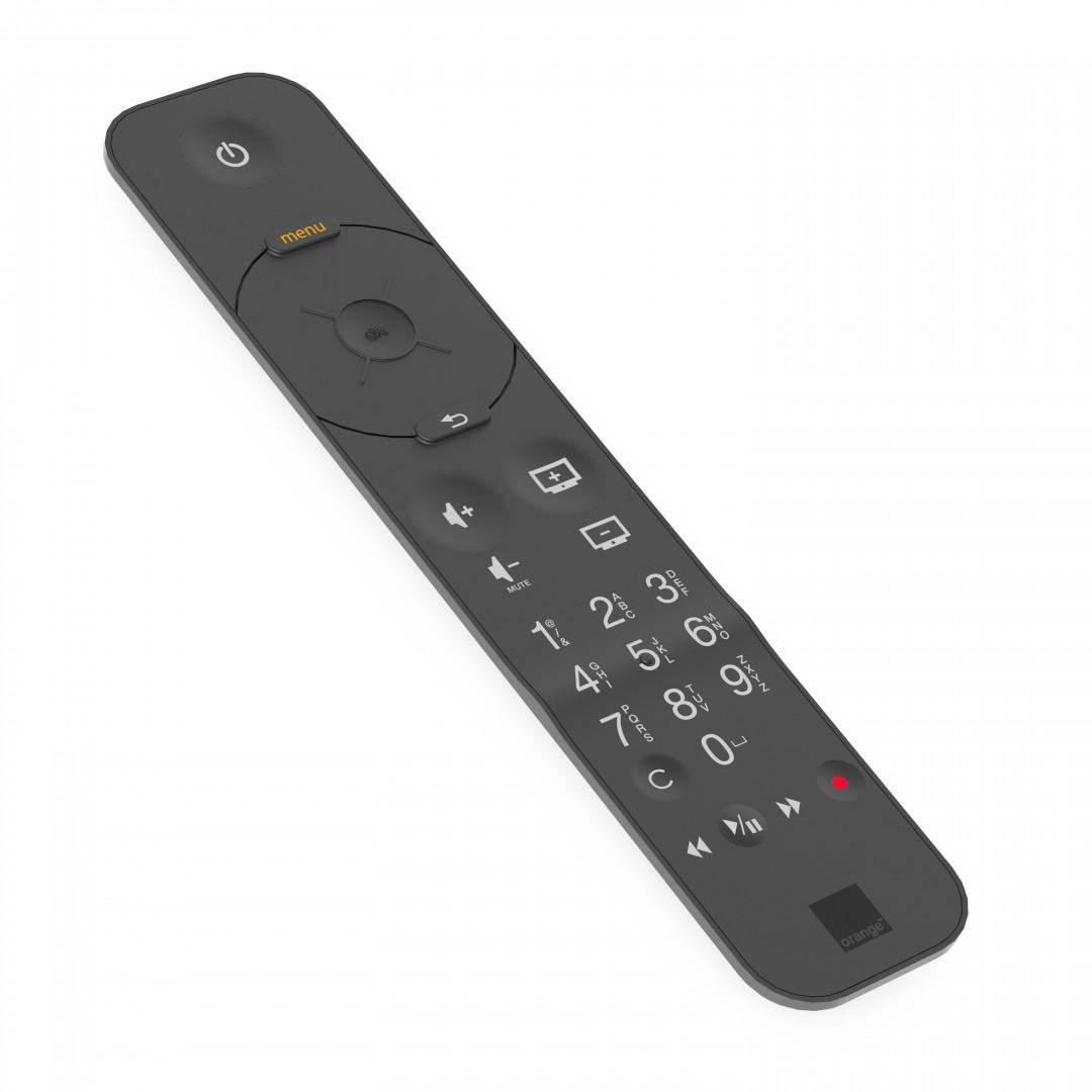 La nouvelle télécommande de la Livebox d'Orange