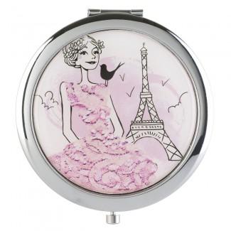 Un miroir de poche pour retoucher sa beauté, 9€95 (La chaise longue)