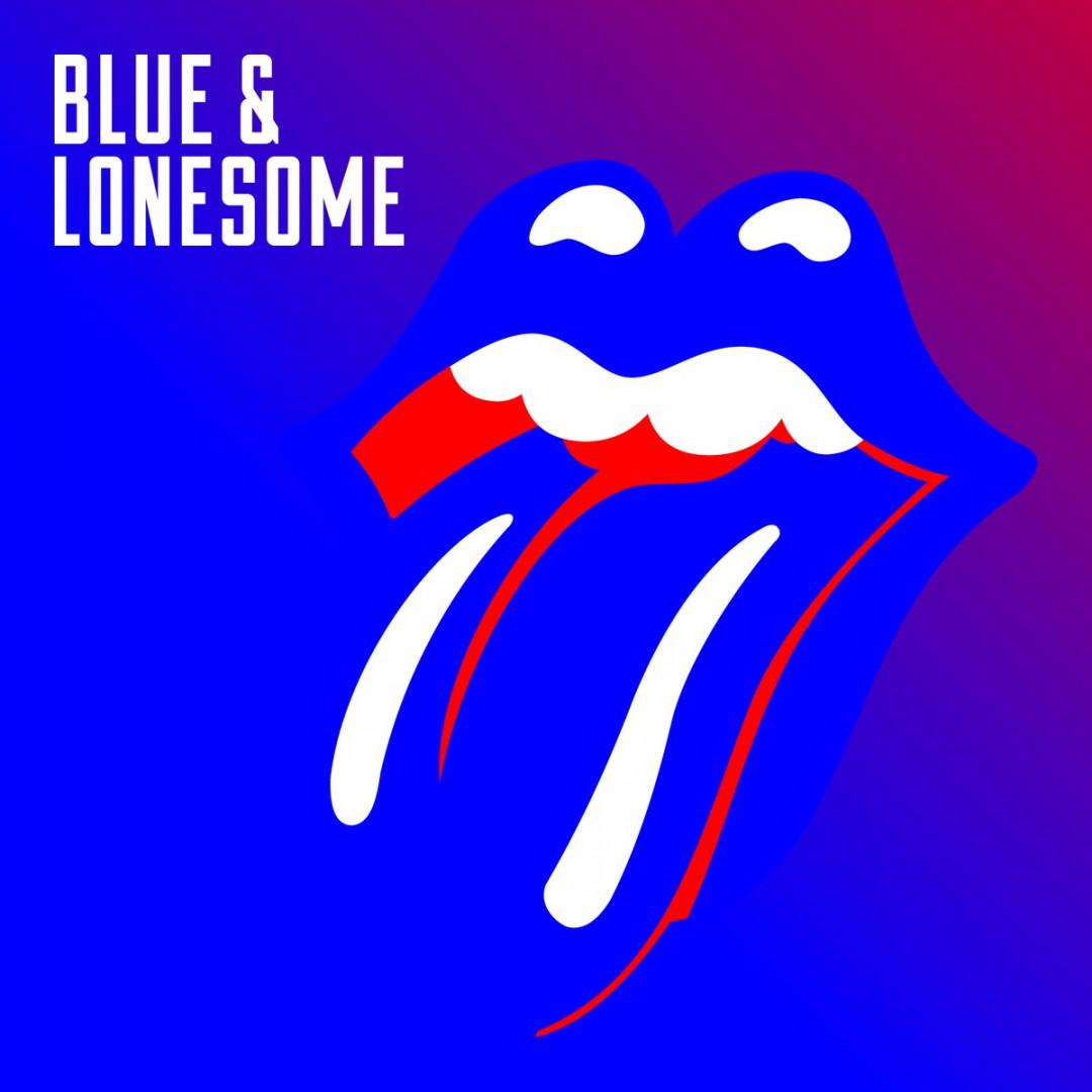 """La pochette du nouvel album des Rolling Stones, """"Blue and Lonesome"""""""