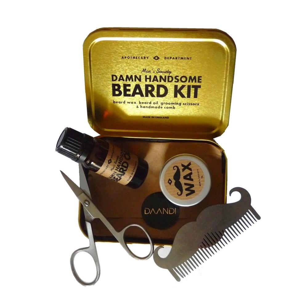 Kit d'entretien de barbe, Men's Society, 36,95 euros