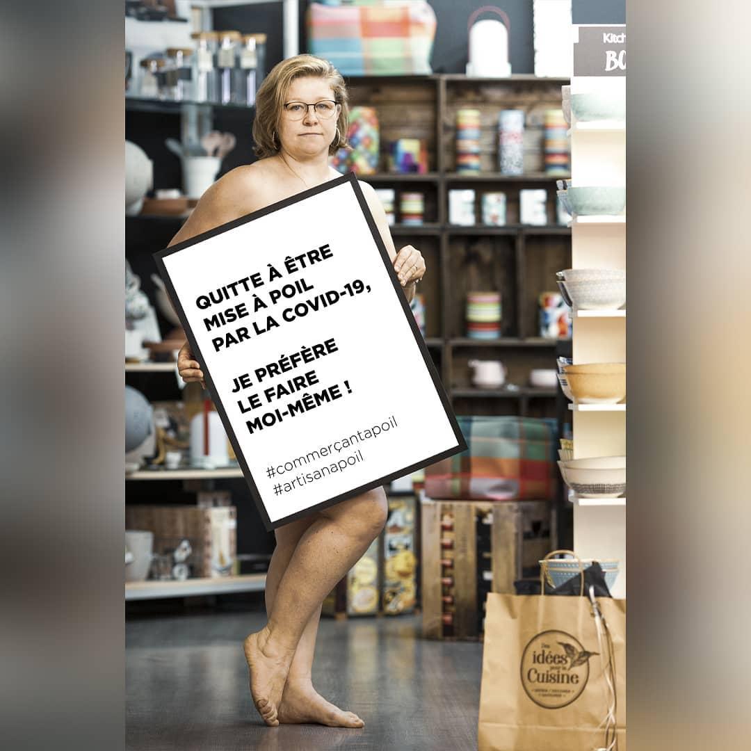 Les commerçants se rallient sous le hashtag #commerçantàpoil