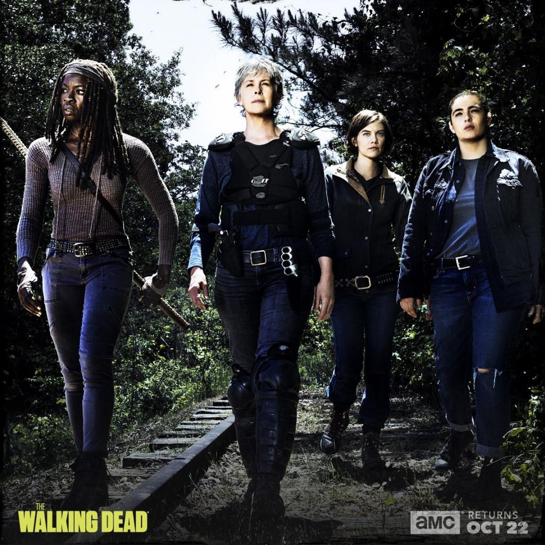 """Les quatre femmes les plus dangereuses de """"The Walking Dead"""" prêtent à en découdre"""