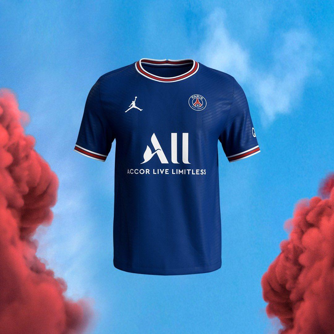 Le maillot domicile du PSG pour la saison 2021-2022
