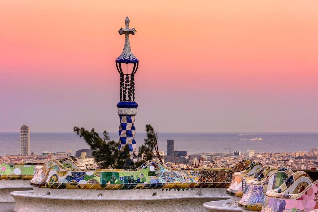 Barcelone, pour profiter de la plage après une journée de visites sous les auspices de Gaudi