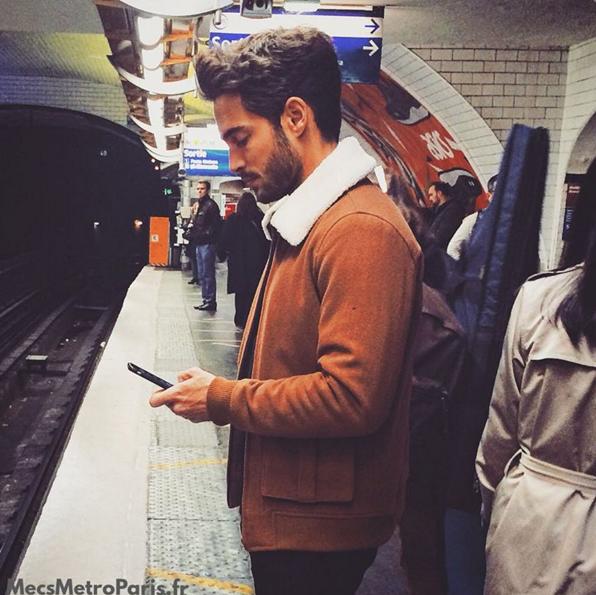 """Les internautes peuvent aussi demander à figurer sur """"Mecs Métro Paris"""""""