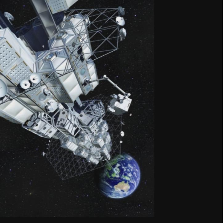 Le port géostationnaire sera situé à 36.000 km de la Terre
