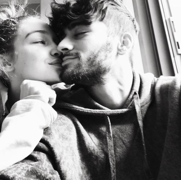 """Pour Gigi Hadid et Zayn Malik, c'est """"tous les jours"""" le bonheur"""