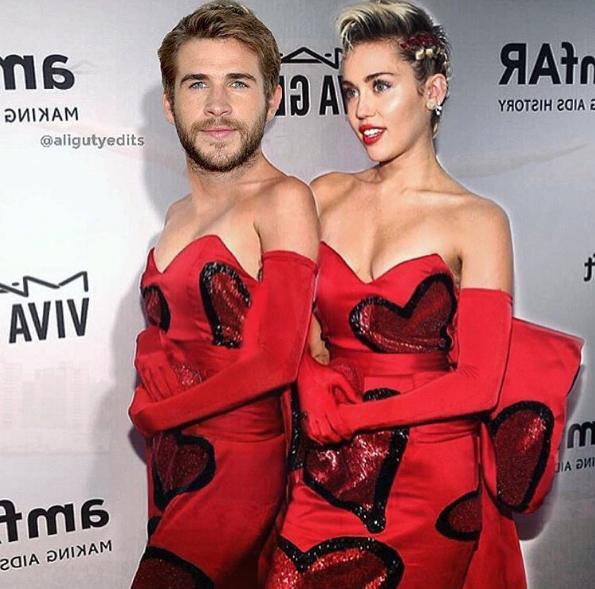 Toujours moins consensuelle que ses consœurs, Miley Cyrus s'amuse en souhaitant une joyeuse Saint-Valentin à Liam Hemsworth