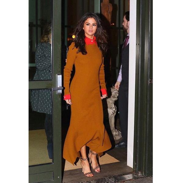 Victoria Beckham salue la beauté de Selena Gomez, vêtue de l'une de ses dernières créations