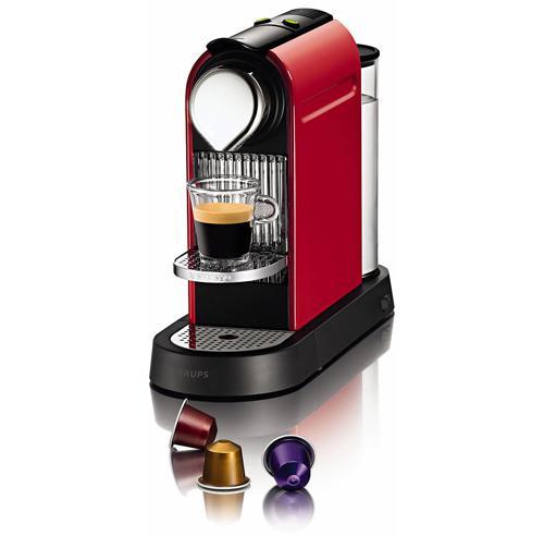 Expresso à capsules Nespresso Kurps Citiz - Rouge Flamme, 129 euros