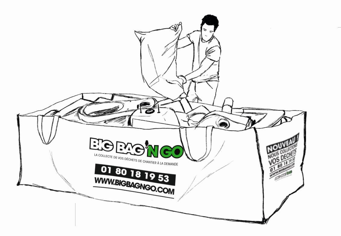 Le grand Big Bag'n Go de 2m²