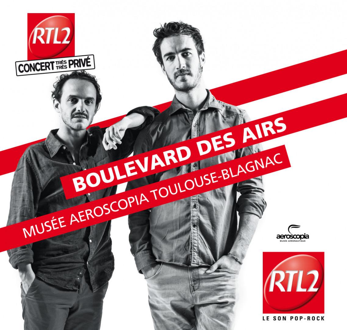 Boulevard des Airs en Concert Très Très Privé
